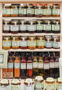 assorted-label jar lot